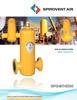 VHR - Spirovent High Velocity Air Eliminators