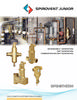 VJR / VJS / VJV / VDR / TDN - Junior Series Brass Air Eliminators, Dirt Separators, and new Combination Air/Dirt Separators