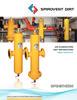 VHT / VHN - Spirovent High Velocity Combination Air / Dirt Separators