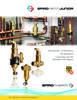 VJR / VJS / VJV / VDR / TDN - Junior Series Brass Air Eliminators, Dirt Separators, and new Combination Air/Dirt Separators